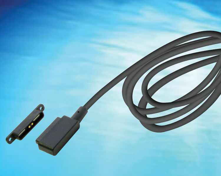 GlobTek offers off the shelf magnetic connector MAG2C2A11851Mxxx as a standard magnetic connector output cord option for power supplies or MAG2C2A11851MUSBA(R) as a detachable connector with USB-A termination.