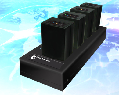 4 Bay Lithium-Eisenphosphat-Batterie (LiFePO4) Multi Position Charger